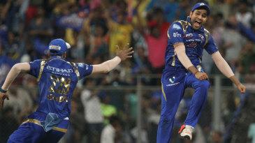 Captain Rohit Sharma enjoys the winning moment