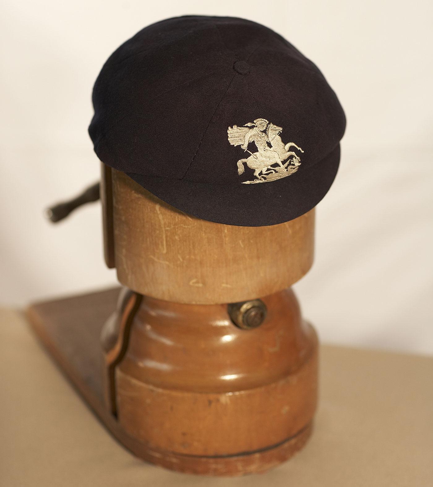Harold's headgear: Larwood's cap displayed at the MCC