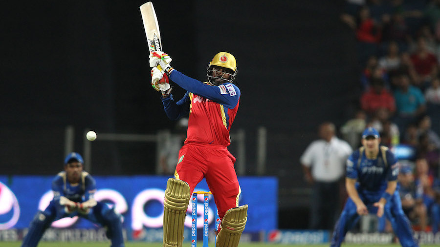Royal Challengers Bangalore chose to bat and Chris Gayle promised a thunderous start, before he was dismissed for 27