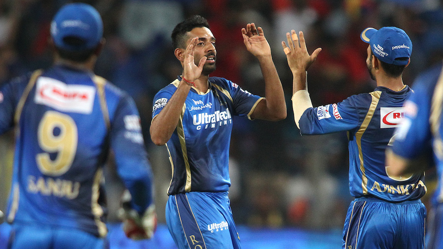Dhawal Kulkarni, who had dismissed Gayle, also accounted for Virat Kohli and reduced Royal Challengers to 46 for 2 in the eighth over