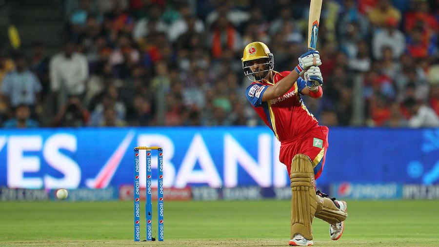 Mandeep Singh unleashes a drive