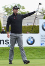 Kevin Pietersen takes part in a pro-am golf event, Wentworth, May 20, 2015