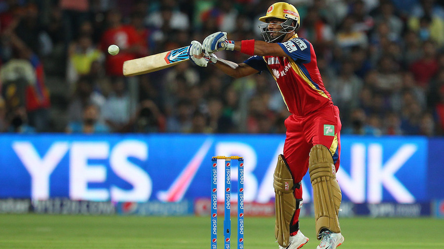 At the other end, Mandeep flourished and his unbeaten 54 off 37 deliveries helped Royal Challengers finish at a formidable 180 for 4
