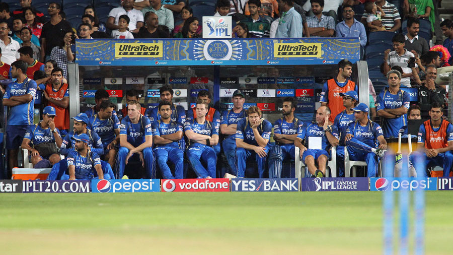 Royals eventually folded for 109, and Royal Challengers set up a clash with Chennai Super Kings in the second qualifier in Ranchi on Friday