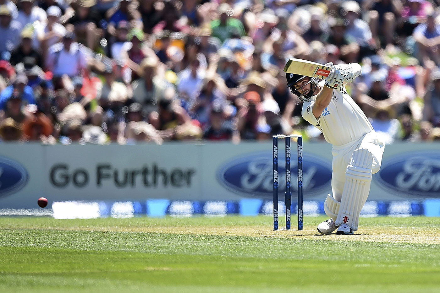 Driven: Williamson is fired by the desire to get better every time he practises