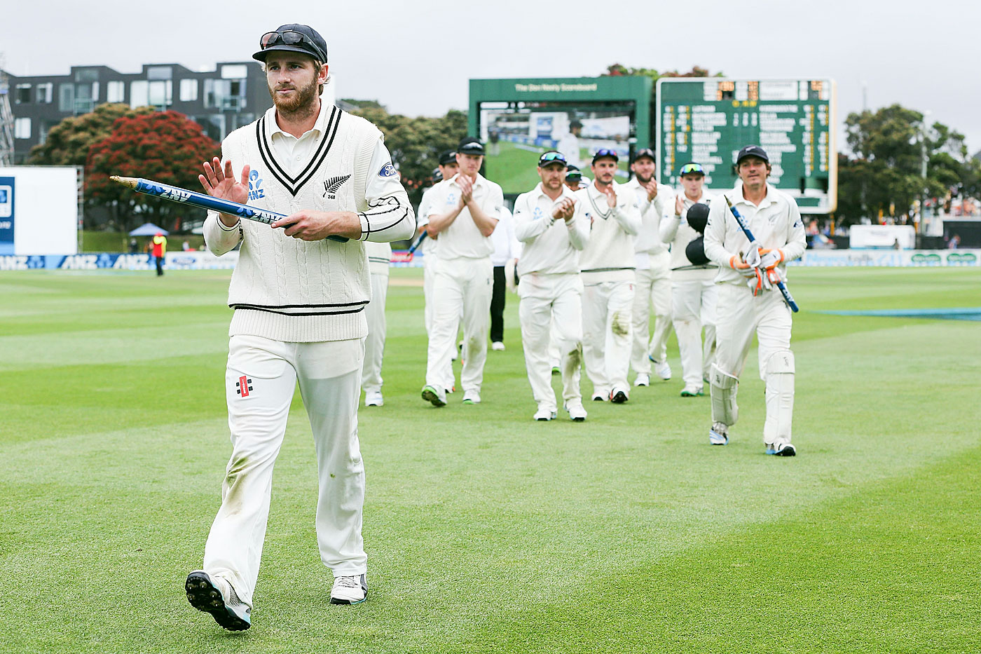 Made to lead: there's little doubt Williamson will captain New Zealand sooner rather than later