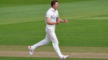 Craig Meschede helped finish off the Essex innings