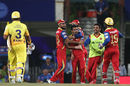 Yuzvendra Chahal celebrates the wicket of Suresh Raina, Chennai Super Kings v Royal Challengers Bangalore, IPL 2015, Qualifier 2, Ranchi, May 22, 2015