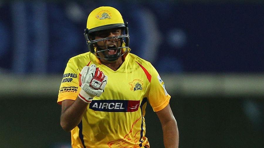 Ashwin took a single off the penultimate ball and ensured Super Kings advanced to their sixth IPL final in eight years