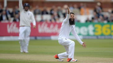Moeen Ali picked up two wickets in three balls