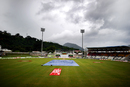 A grey day at Windsor Park, West Indies v India, Dominica, July 6, 2011