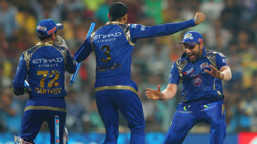 Rohit Sharma is ecstatic after leading Mumbai Indians to their second IPL title