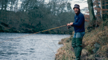 Ian Botham fishing