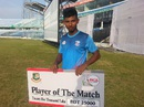Mosaddek Hossain's second-innings century got him the Man-of-the-Match award, South Zone v East Zone, Chittagong, Bangladesh Cricket League, May 27, 2015