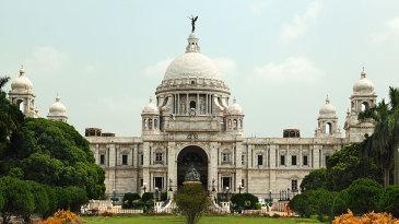 The Victoria Memorial in Kolkata