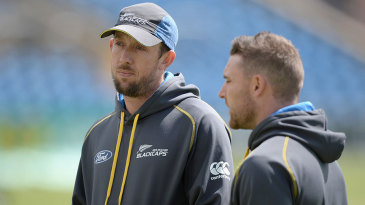 Fancy a game? Brendon McCullum could call on Luke Ronchi to make his Test debut at Headingley
