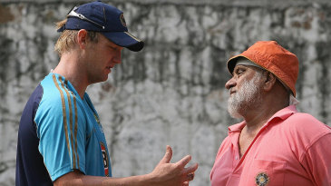 Bishan Bedi chats with Cameron White