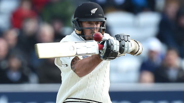 Luke Ronchi came out with a fine counter-attack