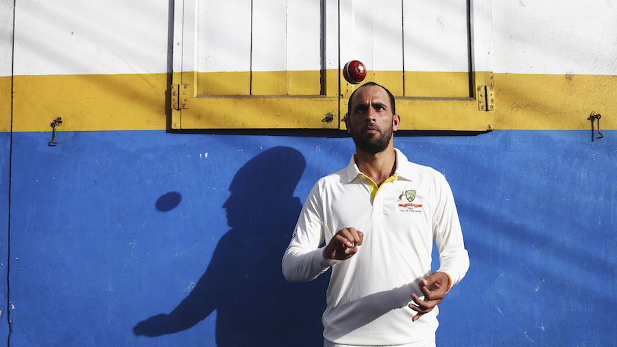 Fawad Ahmed at a portrait session