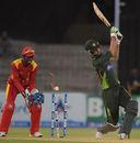 Hammad Azam is bowled by Graeme Cremer, Pakistan v Zimbabwe, 3rd ODI, Lahore, May 31, 2015