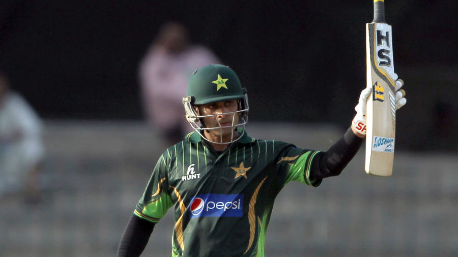 Mohammad Hafeez top-scored for Pakistan with a run-a-ball 80