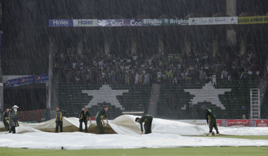 Rain had the last say as the match had to be called off