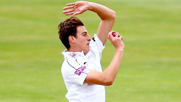 Bradley Wheal was playing in his second first-class match