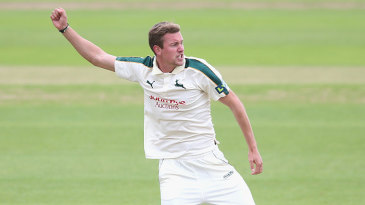 Jake Ball finished with a career-best 6 for 49