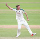Jake Ball finished with a career-best 6 for 49, Nottinghamshire v Sussex, County Championship, Division One, Trent Bridge, 2nd day June 2, 2015