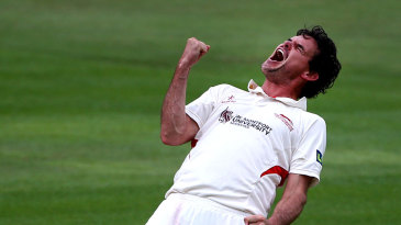 Clint McKay was pretty pleased after removing Ravi Bopara