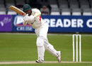 Andrea Agathangelou finished unbeaten on 42 in his first appearance for Leicestershire, Essex v Leicestershire, County Championship, Division Two, Chelmsford, 4th day, June 3, 2015