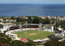 Windsor Park and its glorious backdrop, West Indies v Australia, 1st Test, Roseau, 2nd day, June 4, 2015