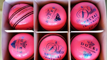 Cricket Switzerland has embraced pink balls