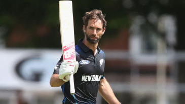 Grant Elliott reached his century in the final over