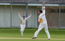 Scott Walter gets Anish Patel caught behind, Loughborough MCCU v Australian Universities, Jun 2-3, 2014