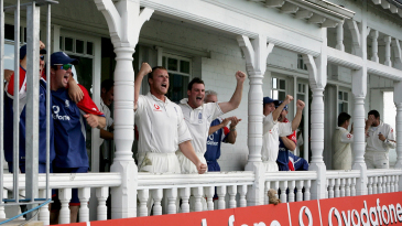 England celebrate their victory