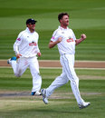 Jackson Bird took two wickets to help finish off the second innings, Sussex v Hampshire, County Championship, Division One, Hove, 3rd day, June 9, 2015