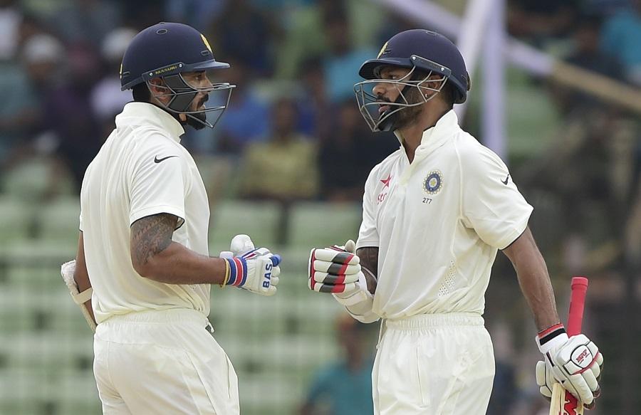 Shikhar Dhawan is performing best India vs Bangladesh 1st test