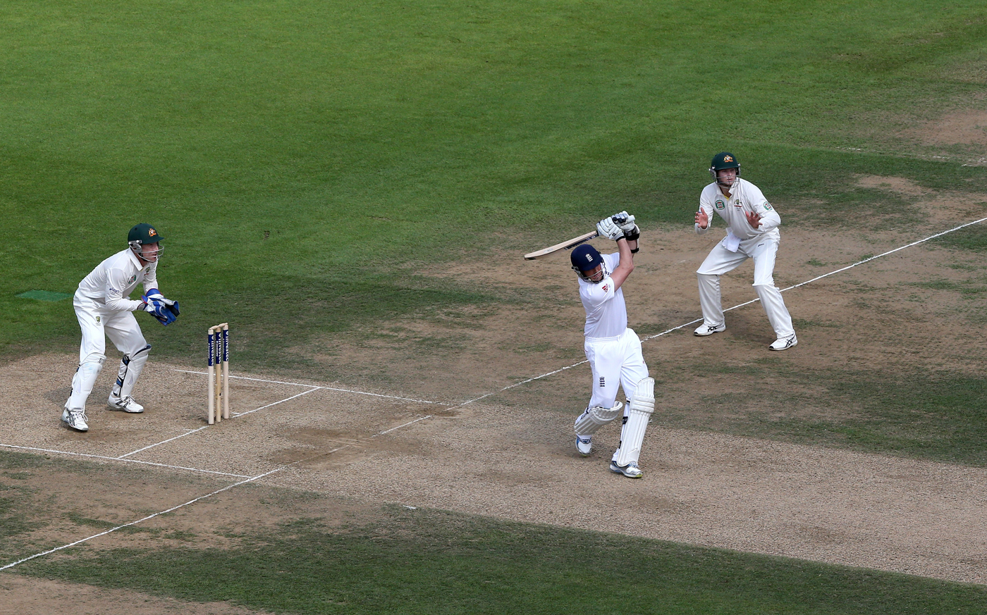 Nine is fine: Swann v Aussie at The Oval in 2013