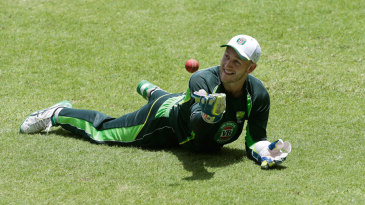 Peter Nevill during a training session ahead of the second Test