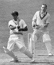 GS Ramchand bats, Surrey v Indians, May 1952