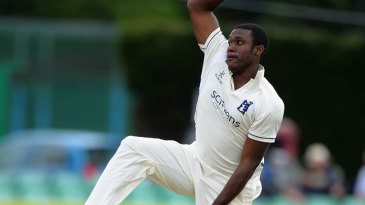 Keith Barker took four wickets to put Worcestershire in trouble