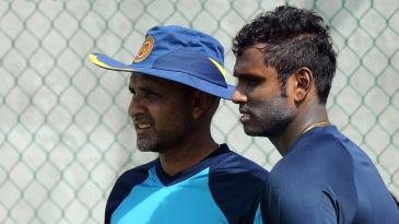 Marvan Atapattu and Angelo Mathews plot Sri Lanka's progress