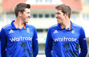 Jamie and Craig Overton could become the first pair of twins to play for England, Trent Bridge, June 16, 2015