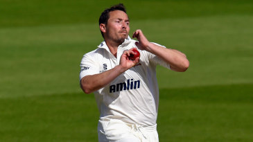 Graham Napier runs in