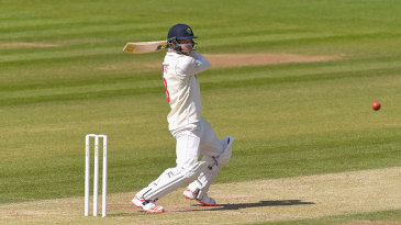 Graham Wagg slashes through the off side