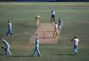 Ian Redpath is caught by Alan Knott off Clive Rice, WSC Australia v WSC World XI, World Series Cricket Supertests Final, Sydney, February 4, 1979