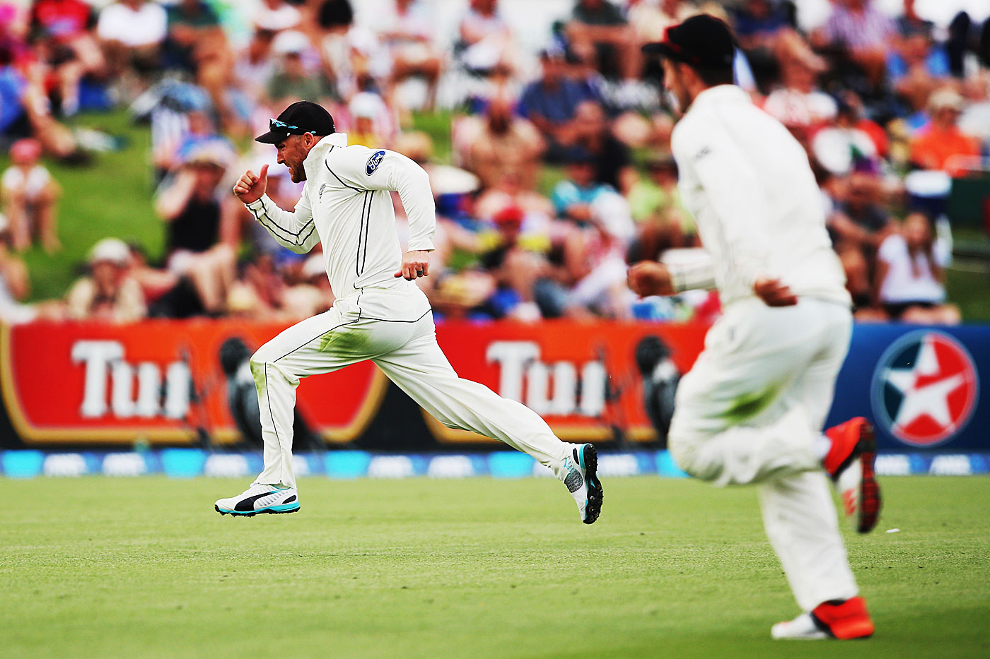 When Brendon McCullum chases, the world follows