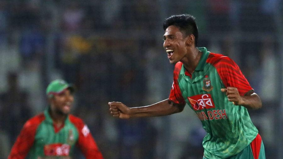 Mustafizur Rahman took 5 for 50 on debut