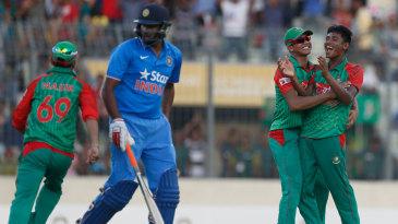 Mustafizur Rahman claimed his second consecutive five-wicket haul